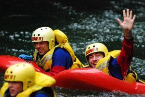 White Water Sledging - Kaituna River