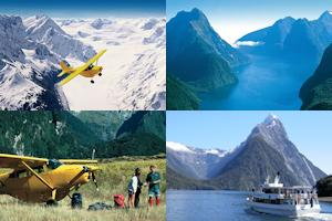 Southern Alps Air Milford Sound Scenic Flight and Cruise