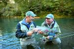 Fishing at Tongariro Lodge