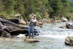 Lake Rotoroa Lodge Fly Fishing